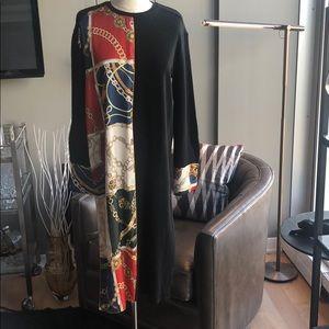 New Zara Sweater Shirt Dress Size Medium